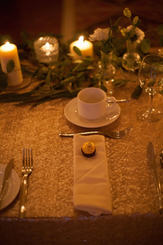 Gold Sequin Wedding Ideas - Wedding Florists Winnipeg