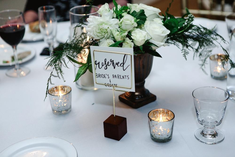 Garden Inspired Wedding Flowers - Wedding Centerpieces
