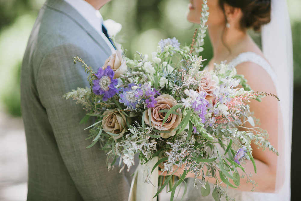 Whimsical Bridal Bouquet - Stone House Creative