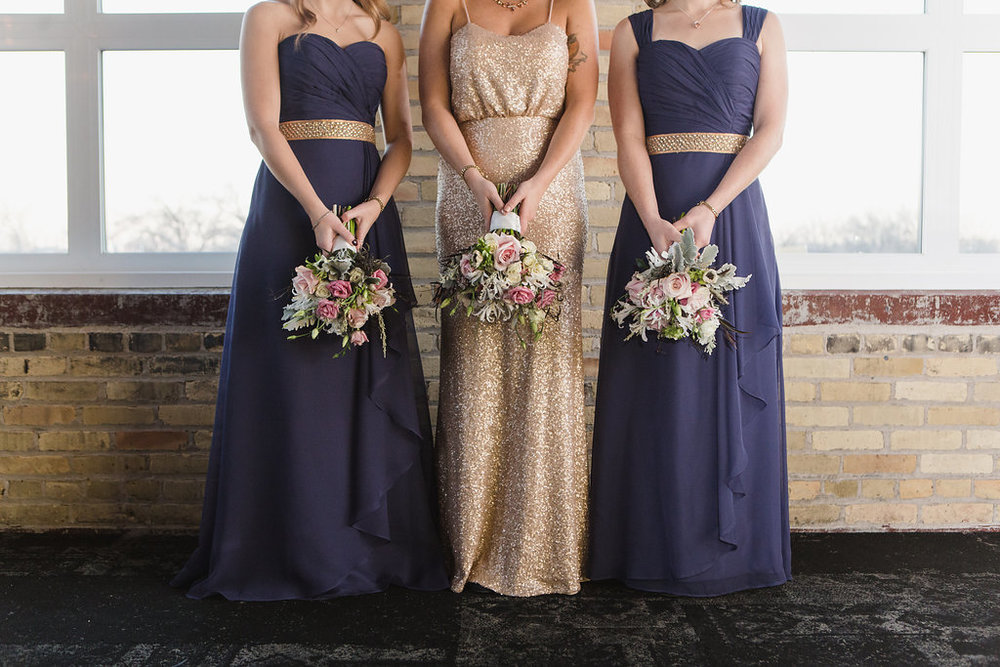 Gold Wedding Dress - Winnipeg Weddings