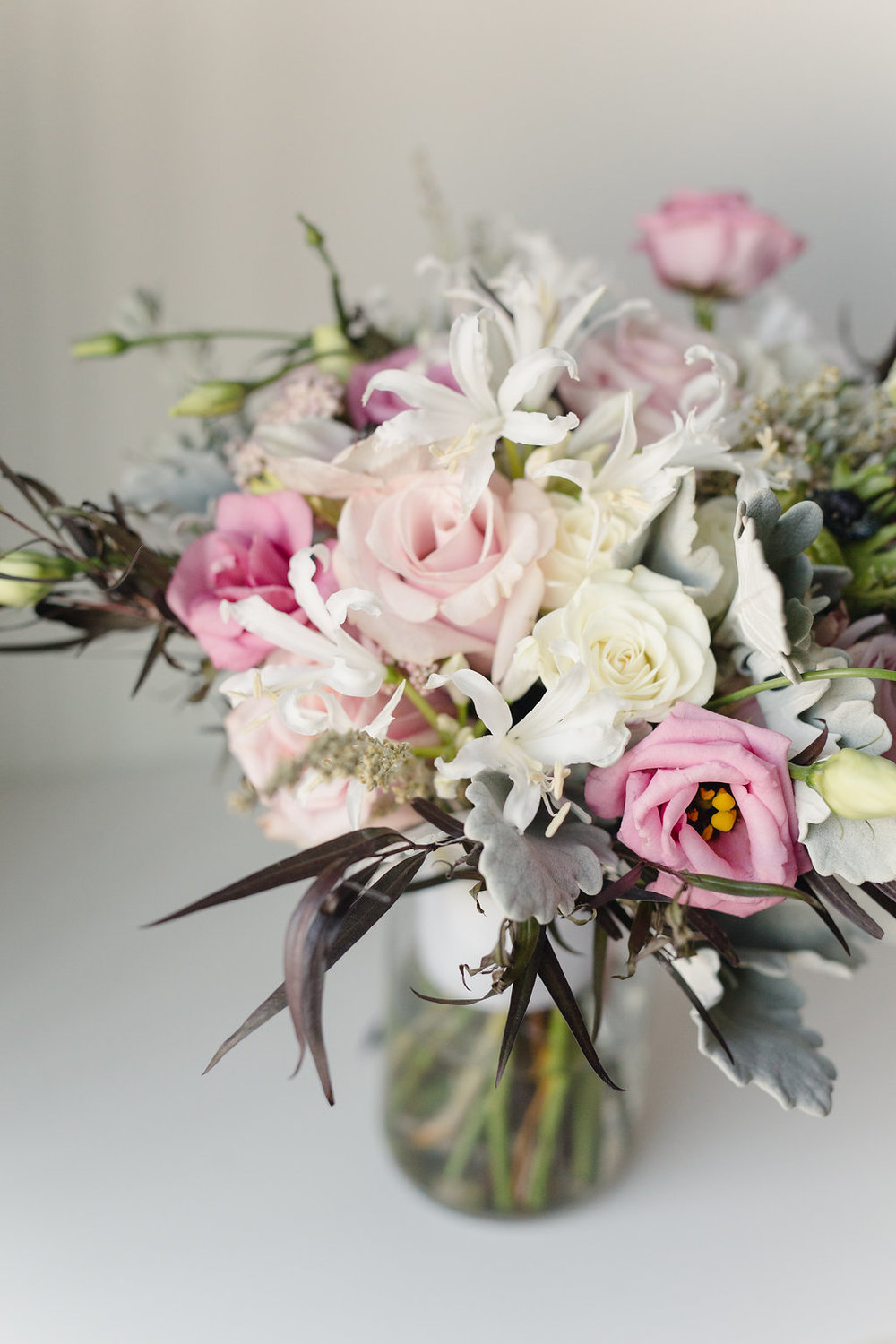 Blush Bridal Bouquet - Winnipeg Wedding Florist