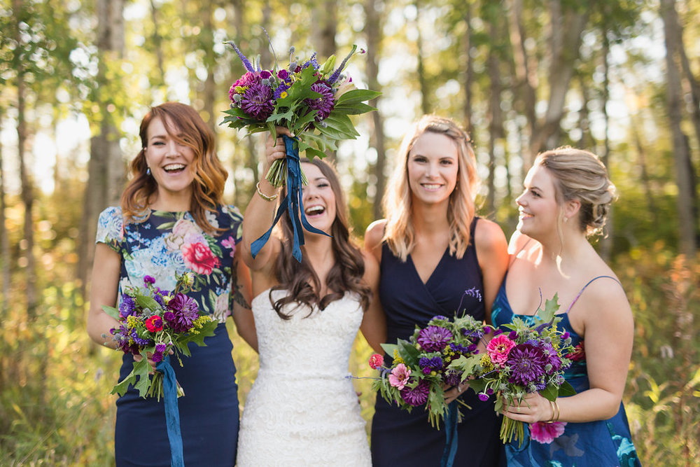 Colourful Wedding Flowers - Wedding Florist in Winnipeg