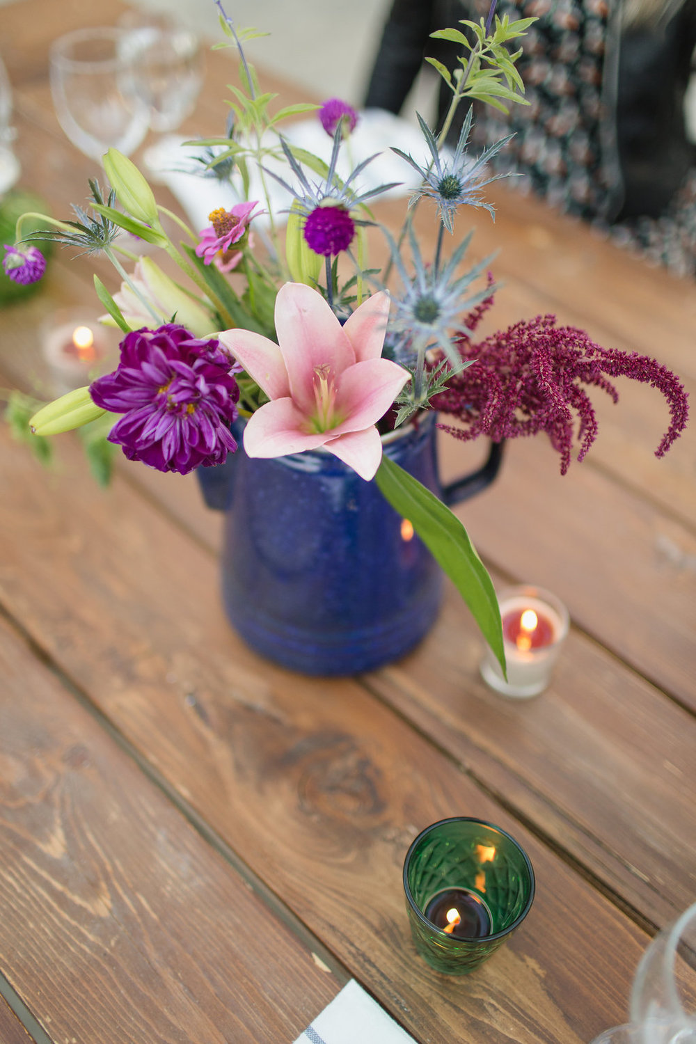 Purple Wedding Flowers - Summer Wedding Flower Ideas