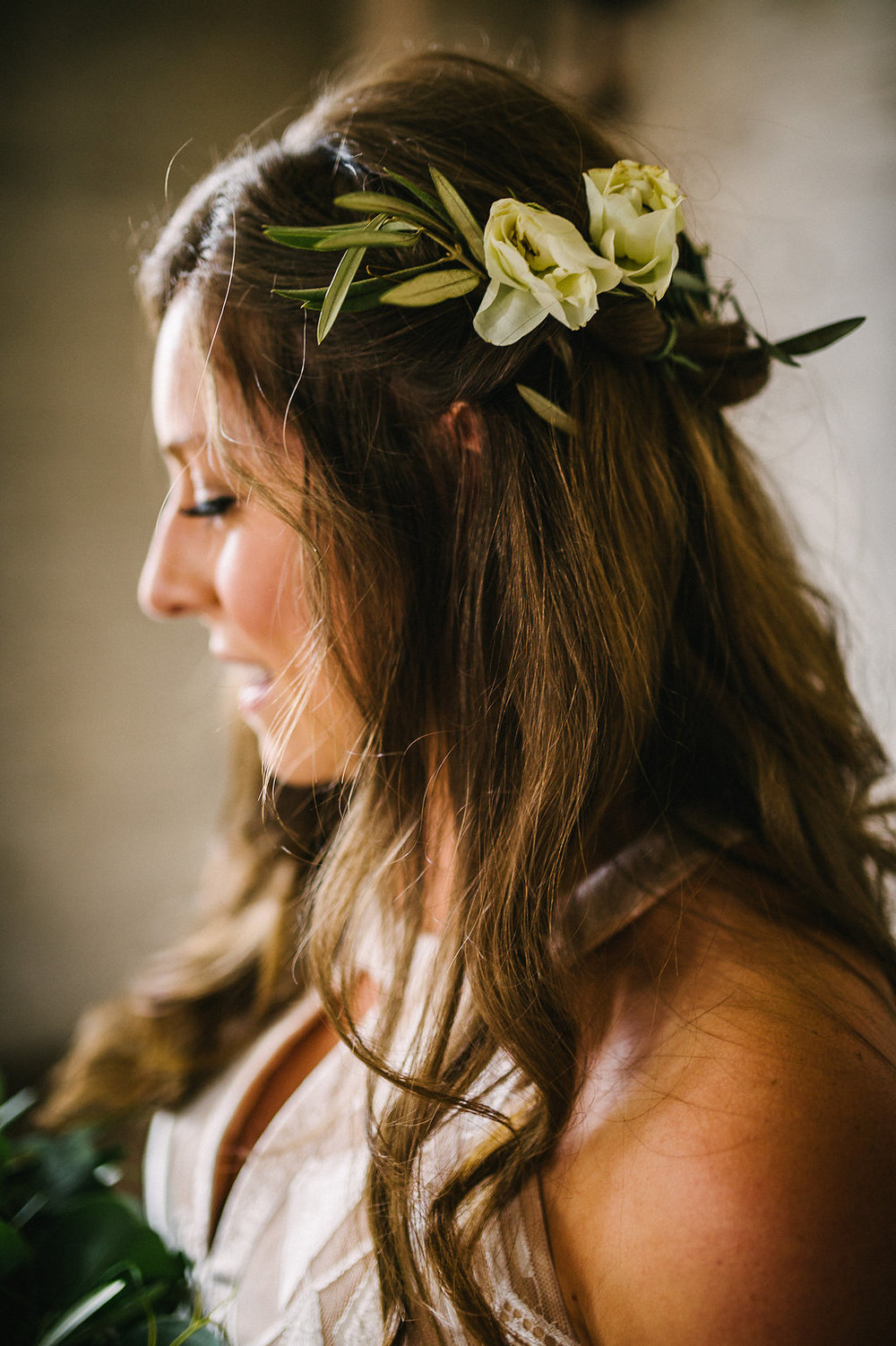 Hair Flowers for Bridesmaids - Winnipeg Wedding Florist