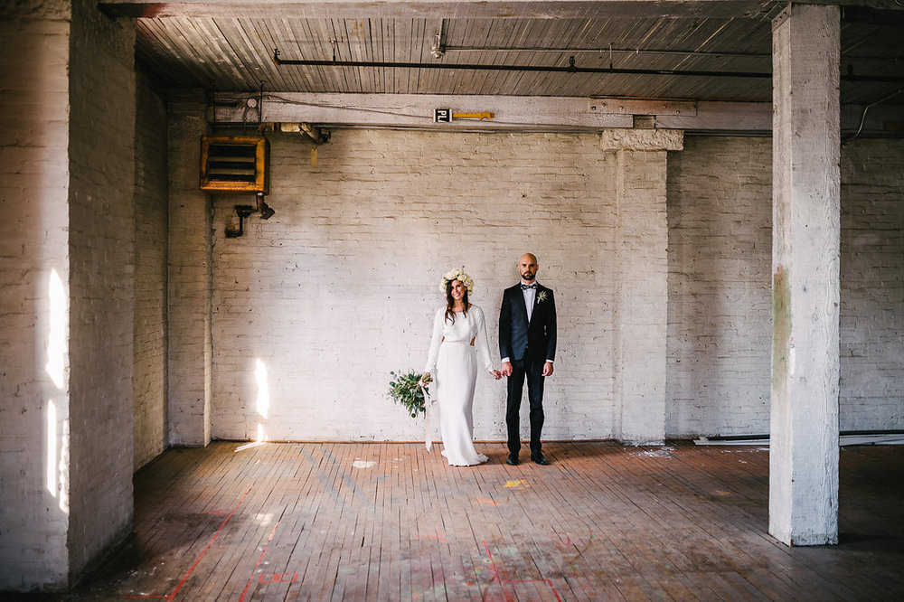 Warehouse Wedding Photos - Weddings in Winnipeg