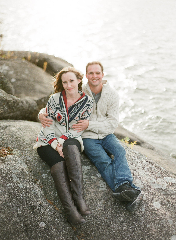 Lake of the Woods Engagement Photos - Winnipeg Weddings