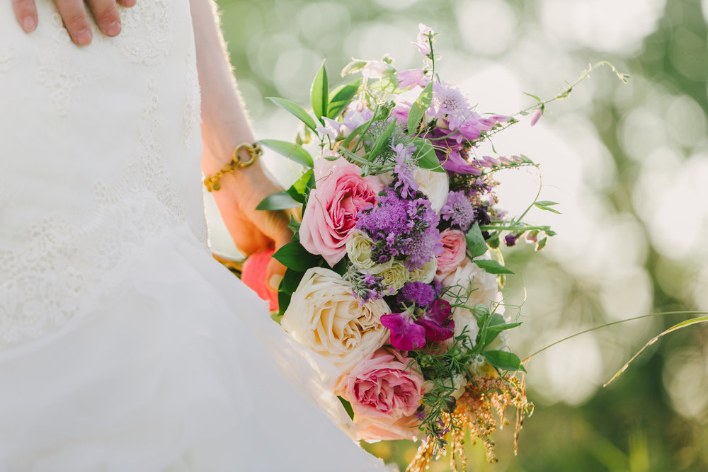 Pastel Purple Bridal Bouquet  Winnipeg Wedding Florist