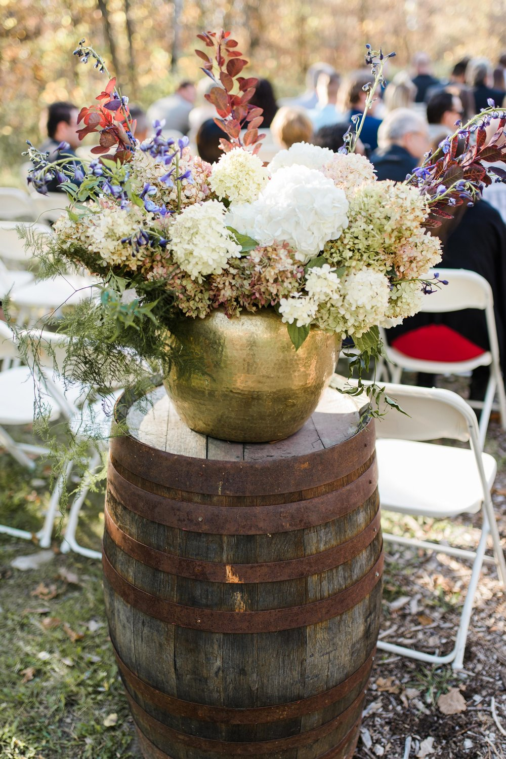 Brass Wedding Ideas - Fall Wedding Flowers in Winnipeg