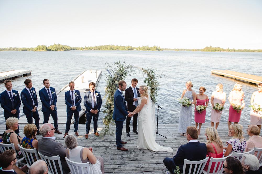 Kenora Yacht Club Wedding - Stone House Creative