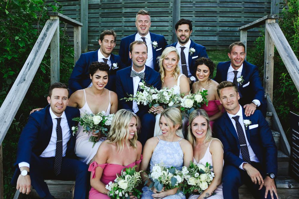 White and Blue Wedding Ideas - Wedding Flowers Winnipeg