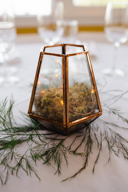 Terrarium Centrepiece - Wedding Flowers Winnipeg