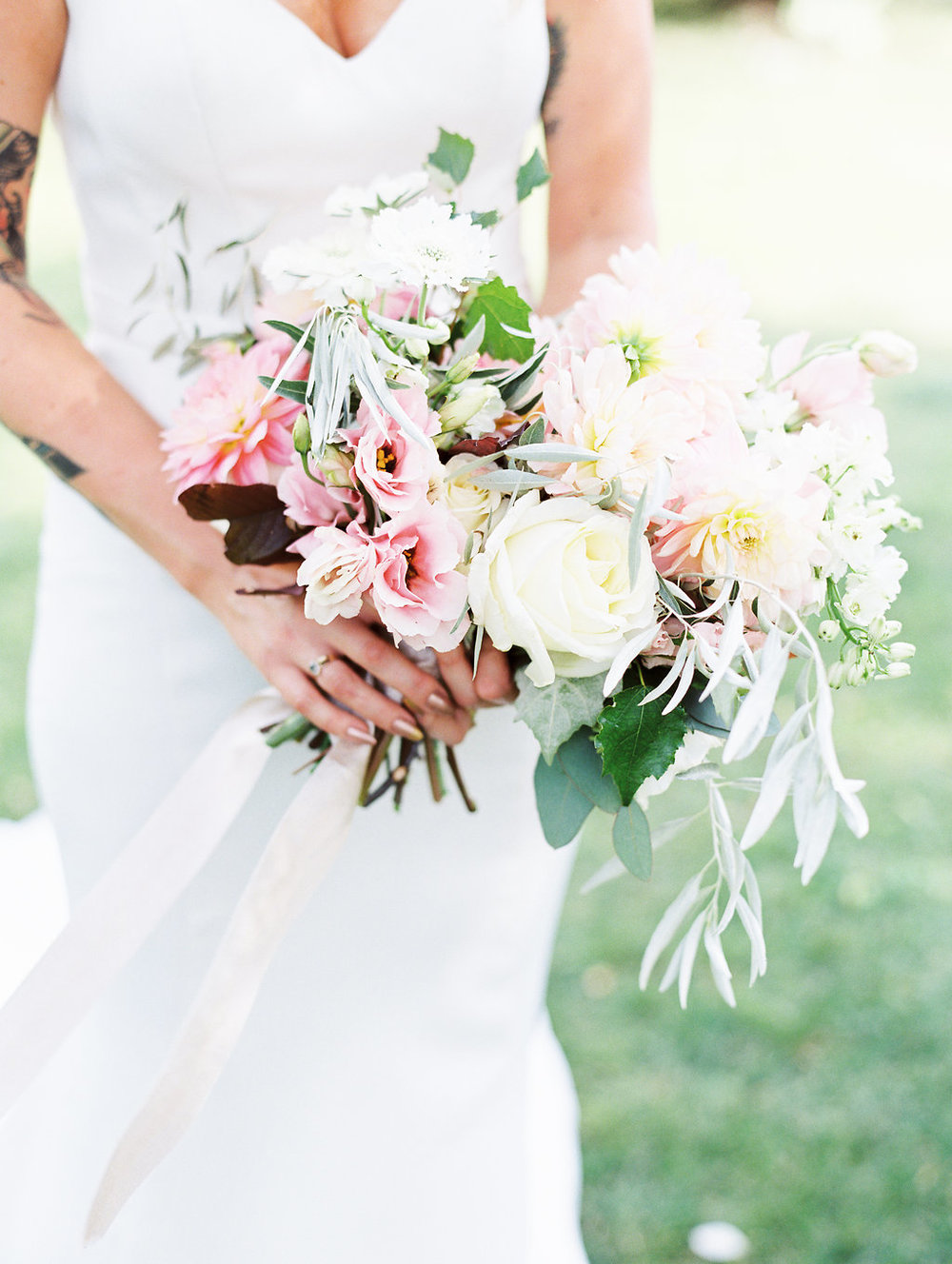 Garden Wedding Flowers - Stone House Creative