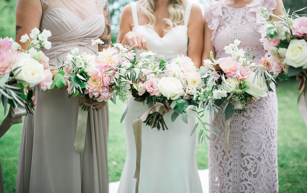 Organic Bridal Bouquet - Wedding Florists in Winnipeg