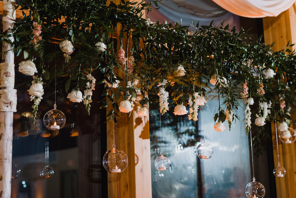 Greenery and Floral Installation - Wedding Decor Ideas