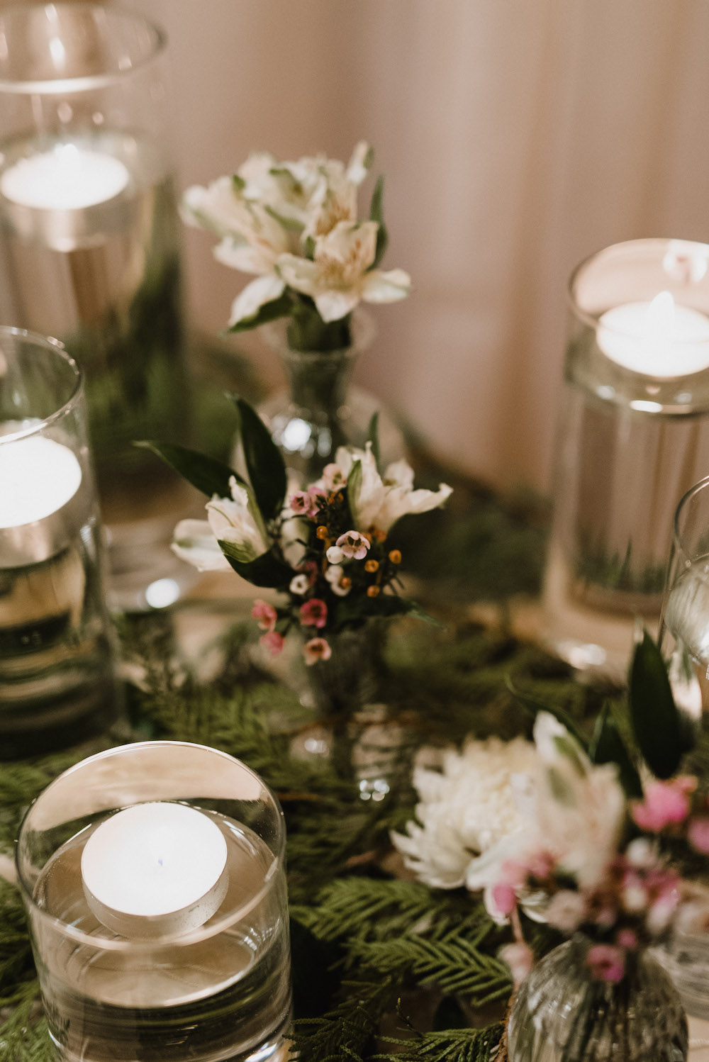 Greenery Wedding Decor - Winter Wedding Decorations