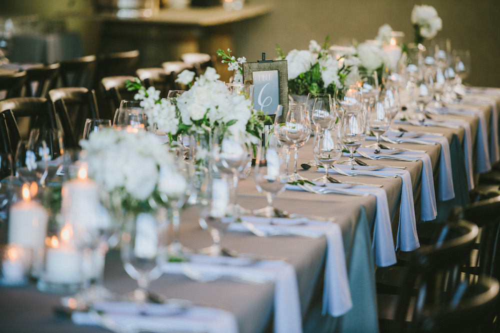 Light Grey and White Wedding - White and Green Wedding Flowers