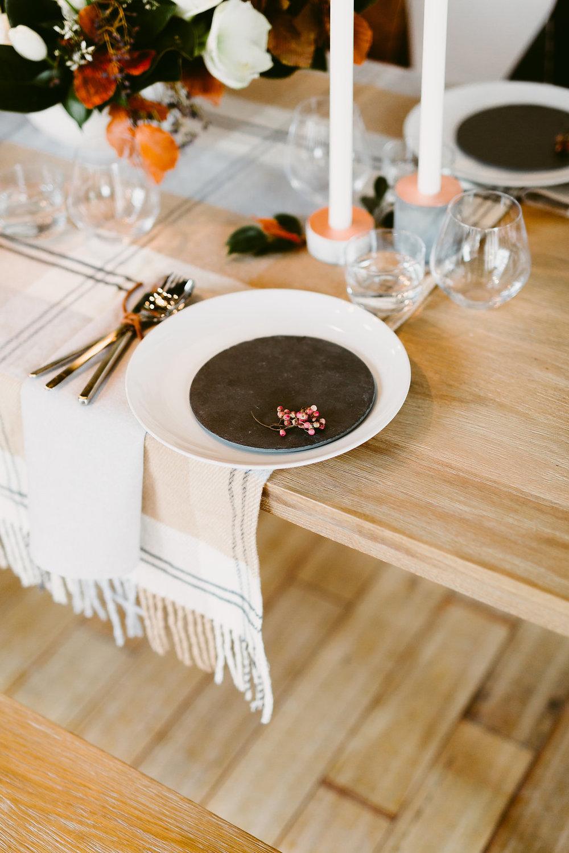 Slate Wedding Ideas - Winter Wedding Decor