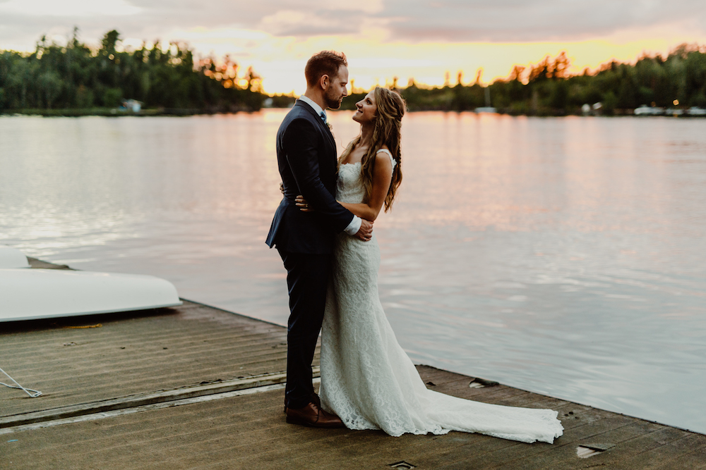 Kenora Yacht Club Wedding - Stone House Creative