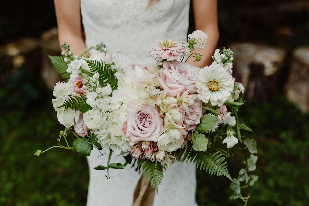 Summer Wedding Bouquet - Winnipeg Wedding Florist