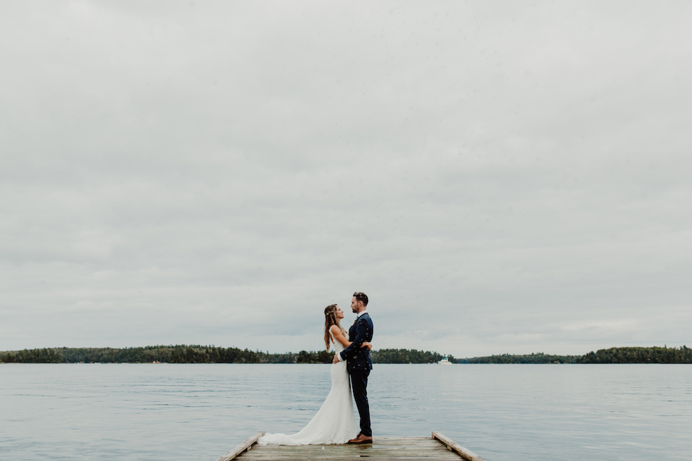 Kenora Yacht Club Wedding