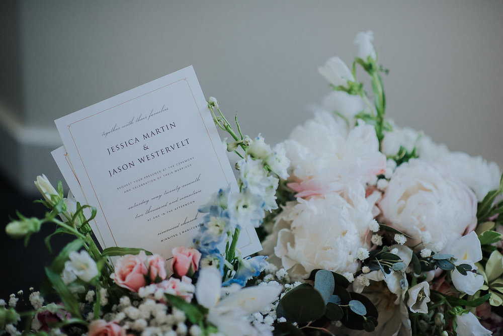 Spring Wedding Flowers - Wedding Florist Winnipeg