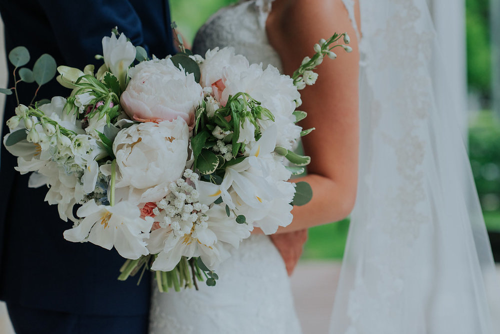 Peony Wedding Bouquet - Wedding Flowers Winnipeg