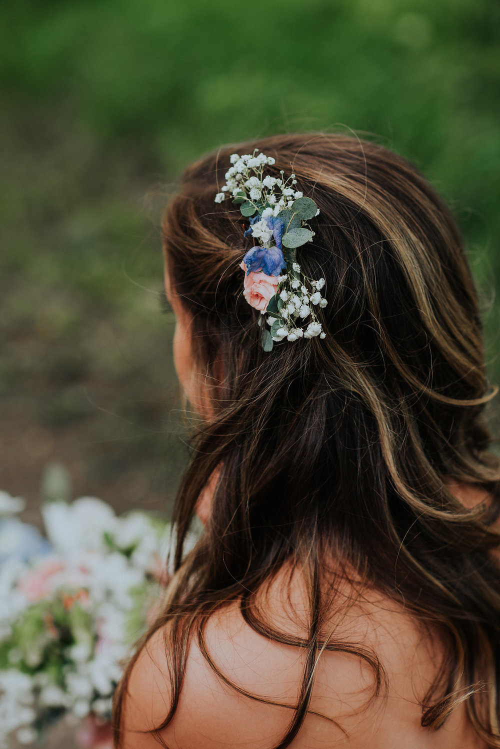 Hair Flowers Wedding - Bridesmaid Hair Ideas