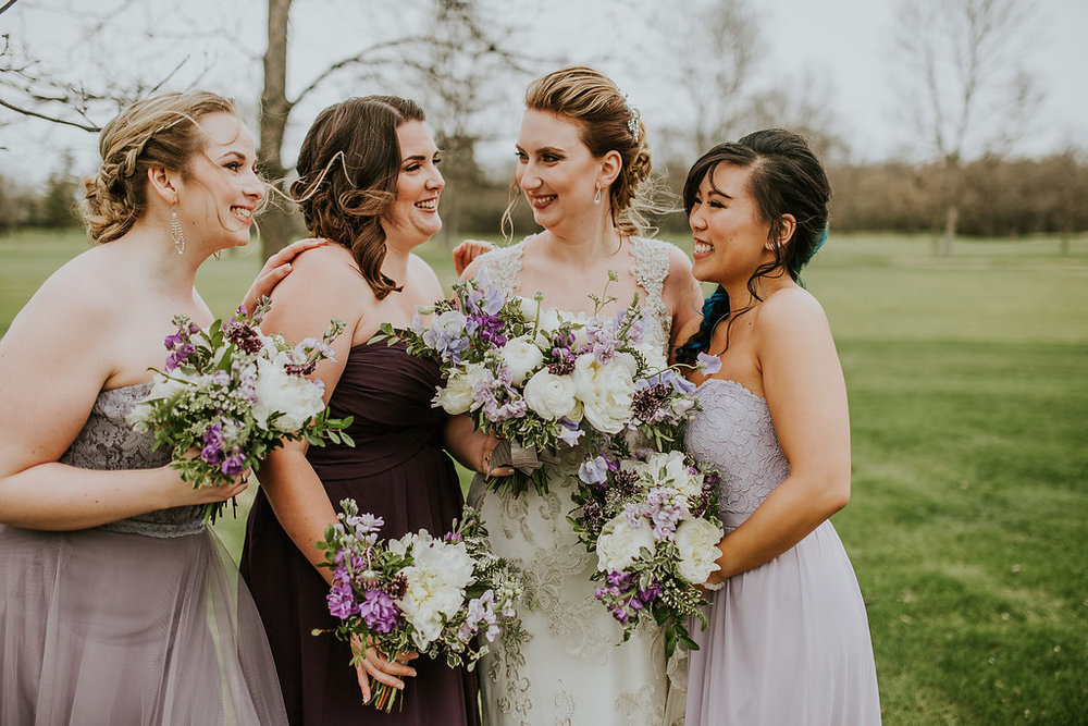 Elegant Purple Wedding Inspiration - Spring Wedding Ideas