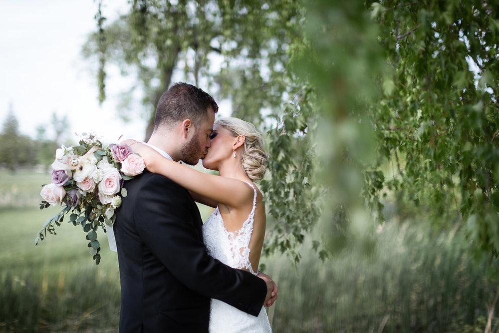 Organic Bridal Bouquet - Romantic Wedding Flowers