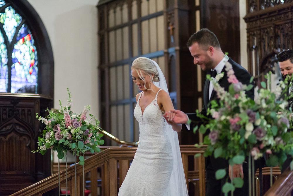 Church Wedding Flowers - Winnipeg Wedding Florists