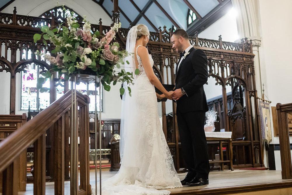 Wedding Ceremony Flowers - Spring Wedding Flowers