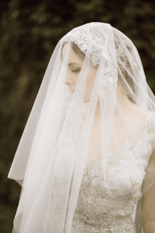 Elegant Wedding Veil - Wedding Planning in Winnipeg