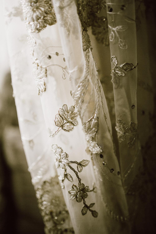 Gossamer Vintage Wedding Dress - Lace Wedding Dress