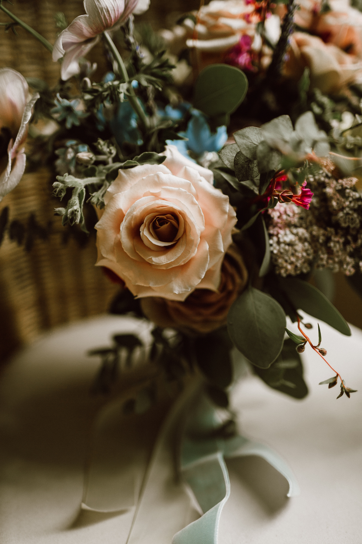 Pastel Bridal Bouquet - Wedding Flowers Winnipeg