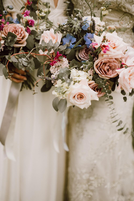 Mauve and Blush Wedding Flowers - Wedding Florists in Winnipeg