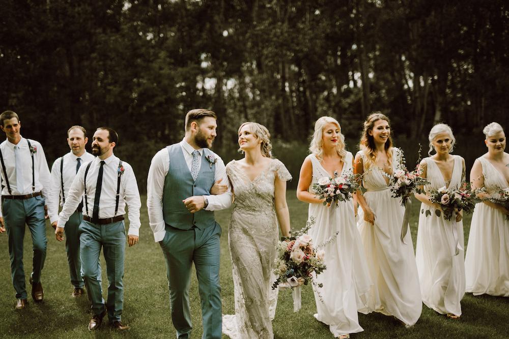 Organic Wedding Flowers - Winnipeg Wedding Florists