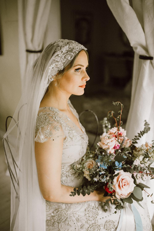 Garden Inspired Wedding Flowers - Stone House Creative