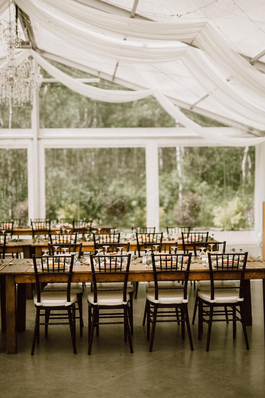 Clear Top Tent Wedding - Tent Wedding Decor