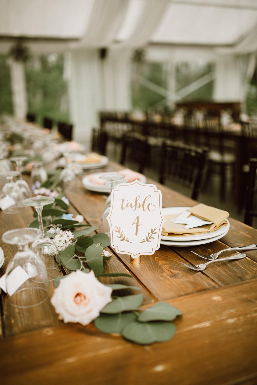 Romantic Wedding Centrepiece Ideas - Stone House Creative