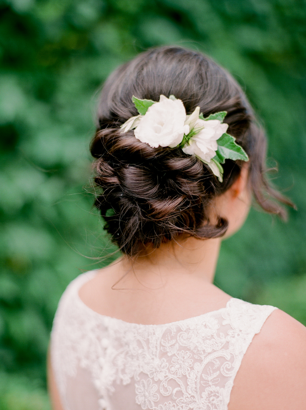 Bridal Flower Comb - Wedding Hair Flowers