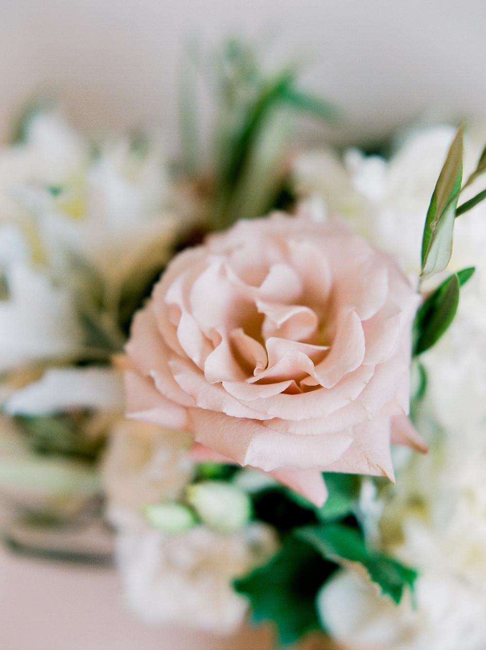 Quicksand Rose Wedding Bouquet - Wedding Flowers Winnipeg