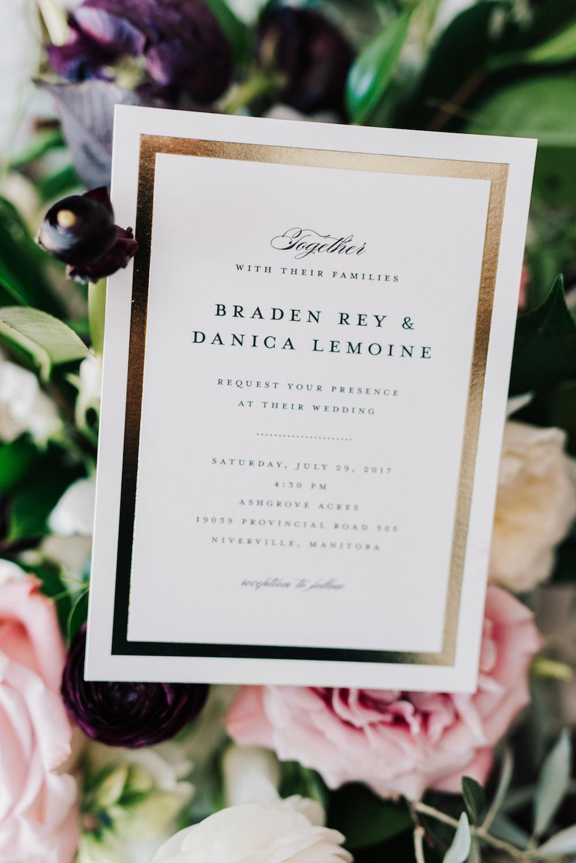 Gold, Blush and Purple Wedding - Wedding Flower Ideas