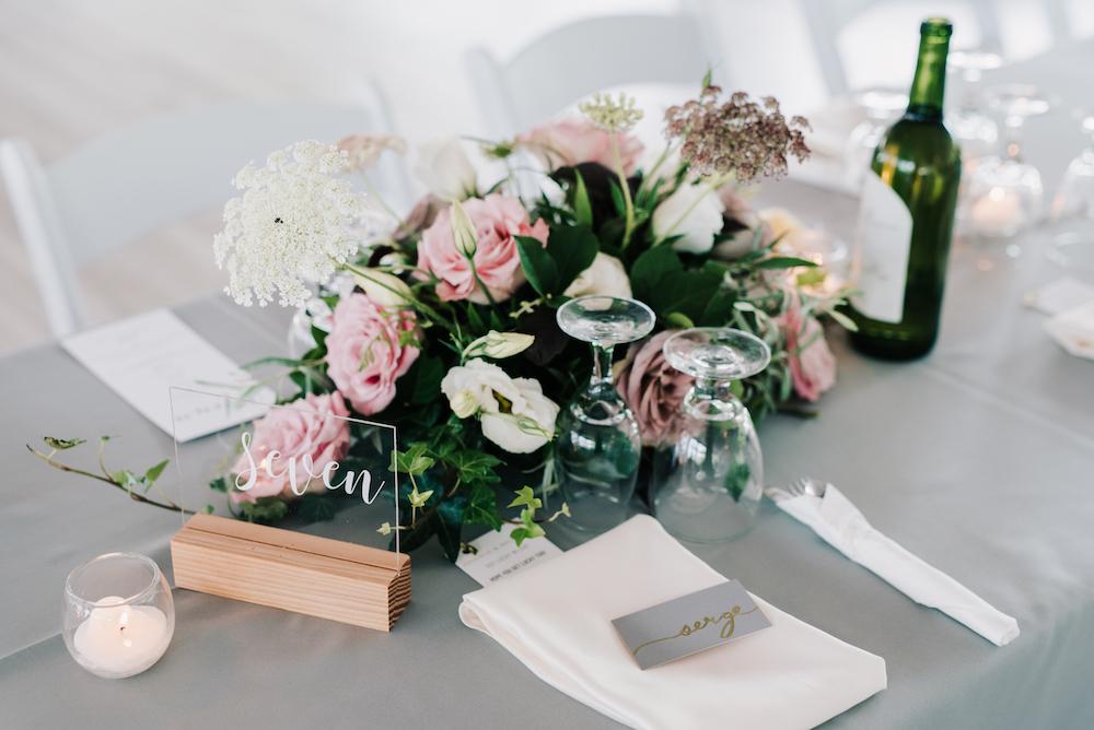 Garden-Inspired Wedding Centrepieces - Romantic Wedding Flowers