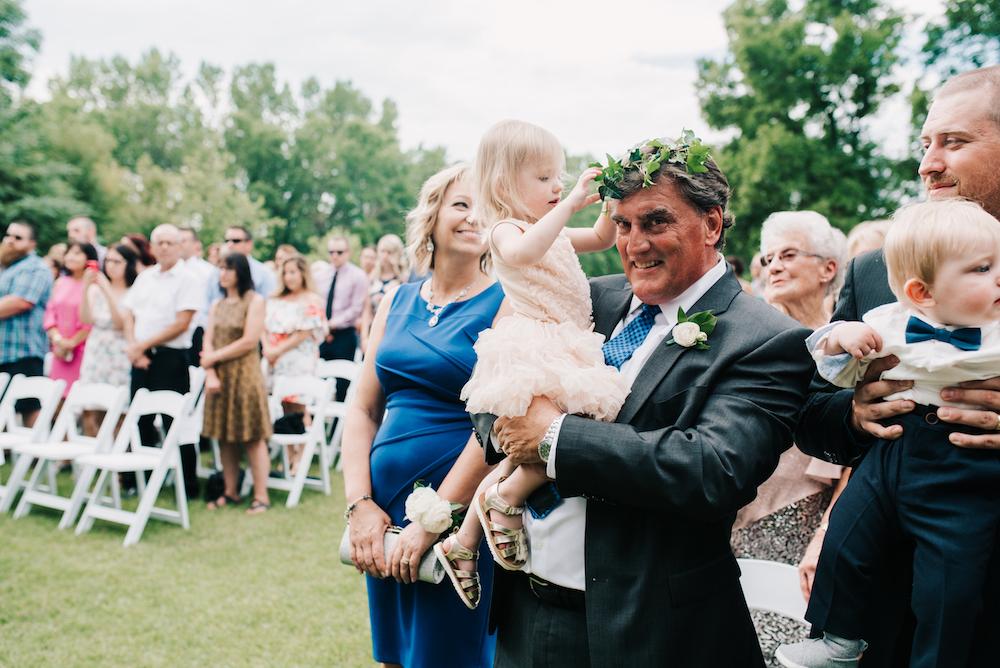 Flower Girl Greenery Crown - Winnipeg Wedding Florist
