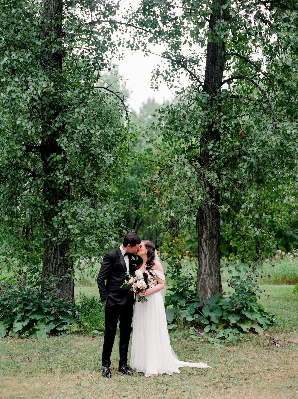 Botanical Bridal Bouquet - Wedding Flowers Winnipeg