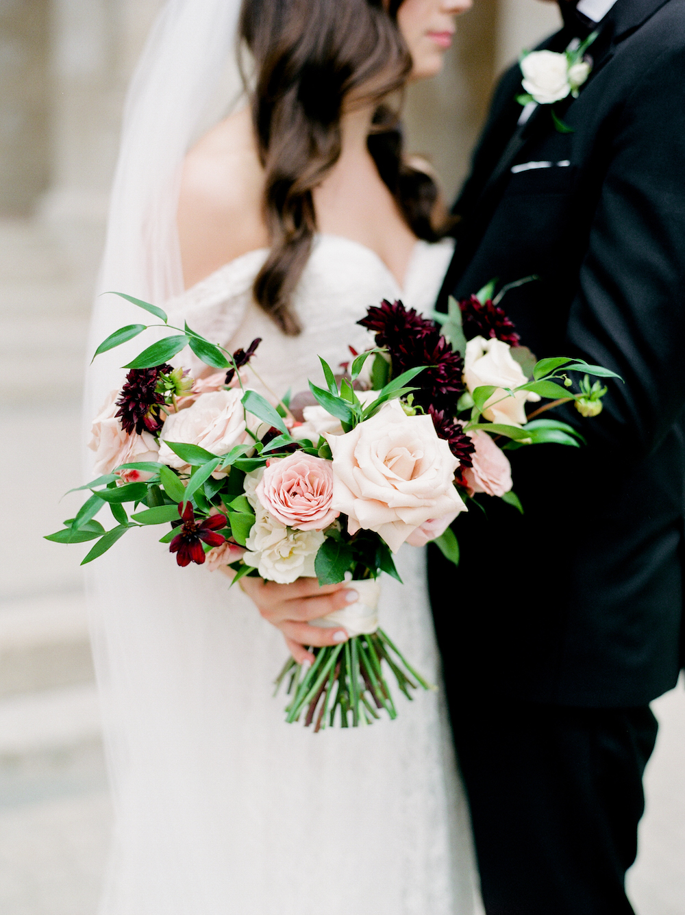 Organic Bridal Bouquet - Wedding Florist Winnipeg