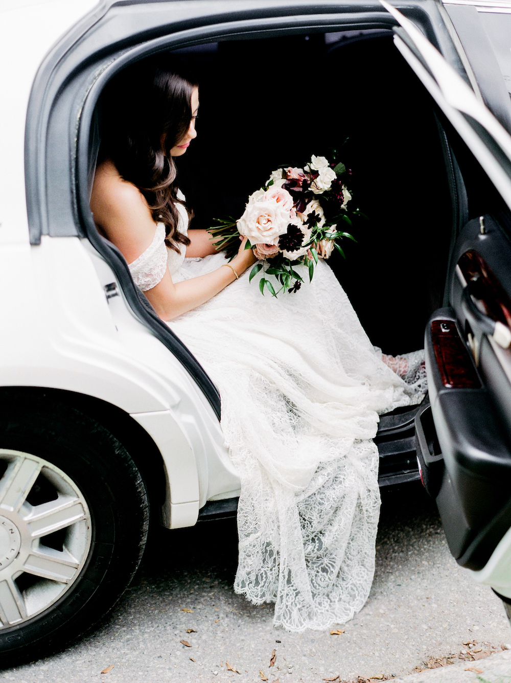 Rose and Dahlia Bouquet - Wedding Florist in Winnipeg