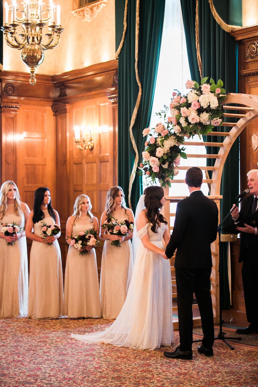 Floral Arch for Wedding - Wedding Florist in Winnipeg