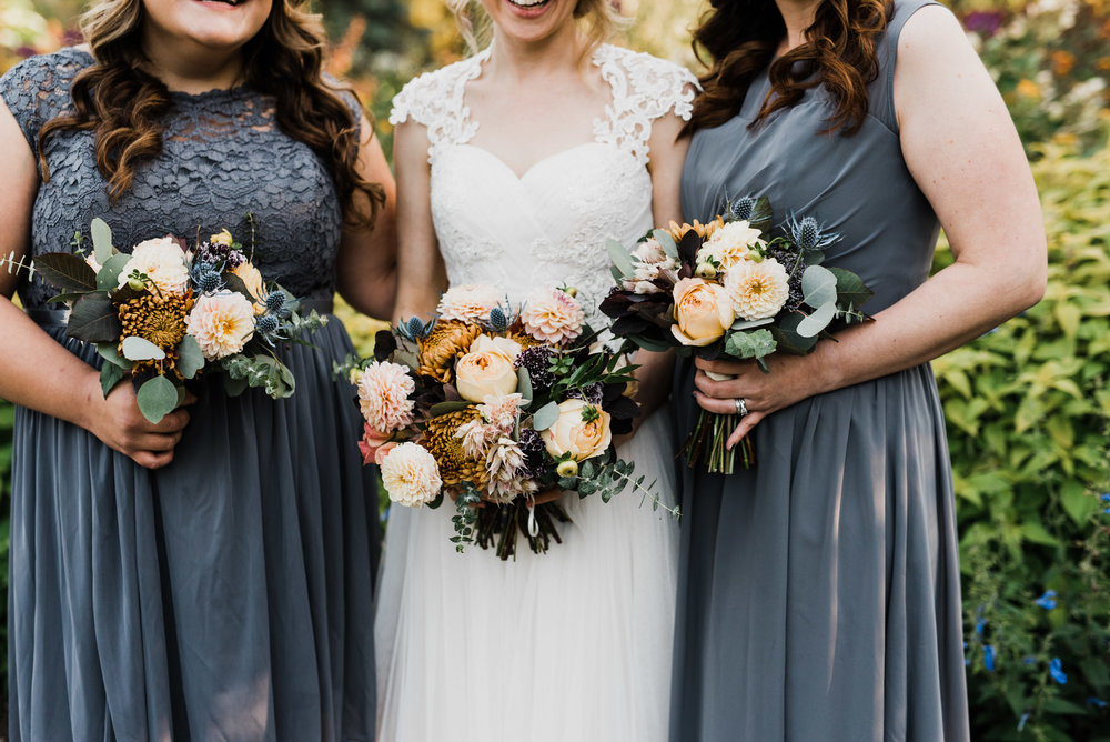 Gorgeous Fall Wedding - Winnipeg Wedding Flowers