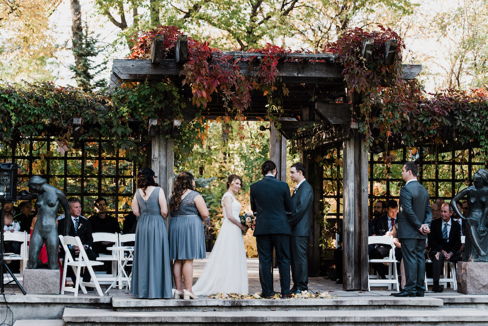 Leo Mol Garden Wedding - Stone House Creative